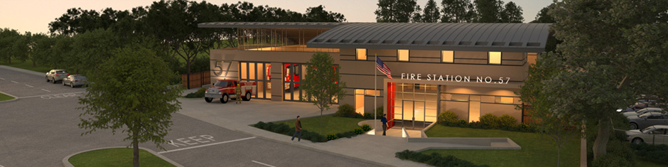 City of San Rafael Fire Station Design by Mary McGrath